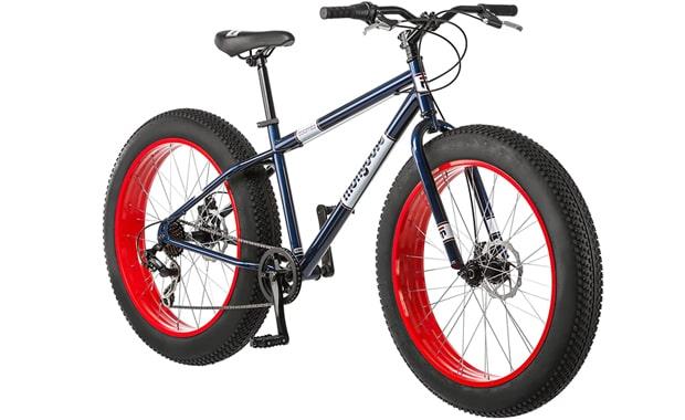 Best strongest:Mongoose Fat Tire Dolomite Mens 7-Speed Mountain Bike