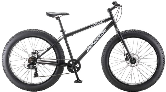 Best Value: Mongoose Malus 7-Speed Fat Tire 26