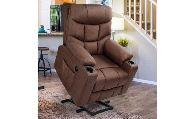 Esright Massage Power Lift Electric Recliner Chair