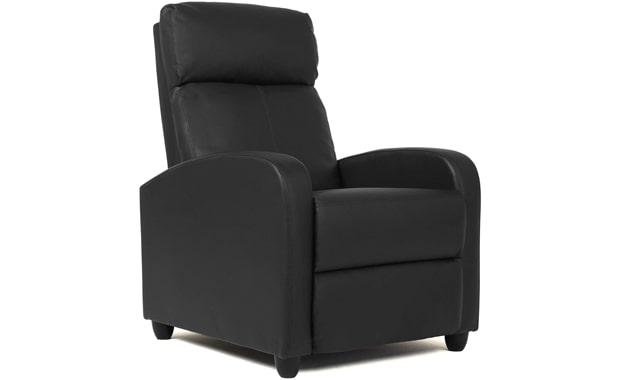 FDW Wingback Modern Sofa Leather Recliner Chair