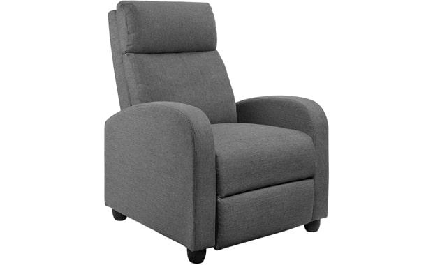 JUMMICO Single Adjustable Recliner Chair