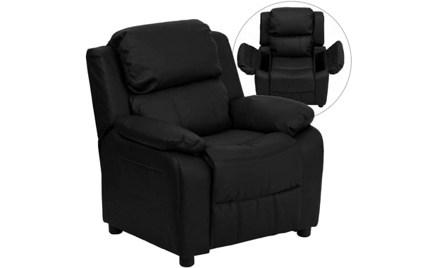 Flash Furniture Padded Leather Deluxe Recliner Chair