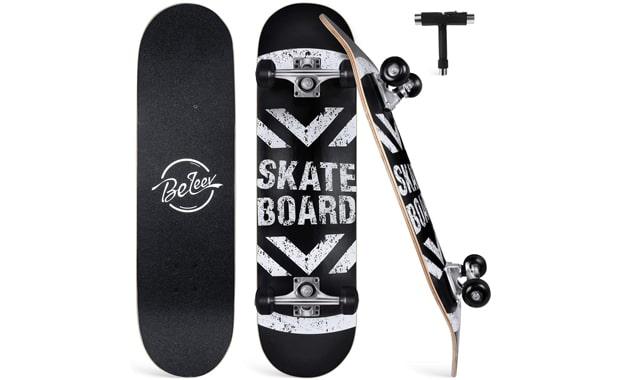 BELEEV-Skateboards for Beginners-31x8 Inches-Complete Skateboard for Kids