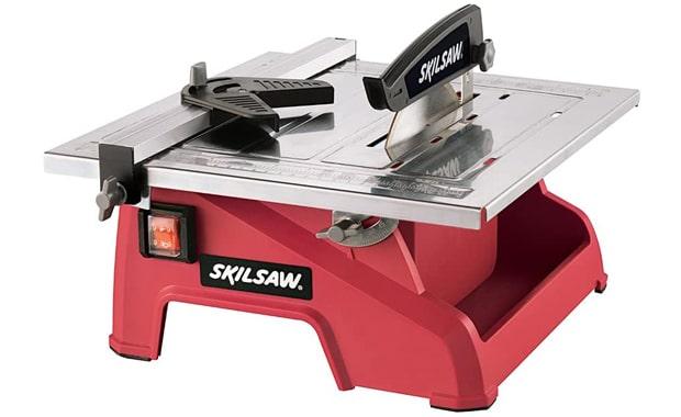 "SKIL 7"" 3540-02 Wet Tile Red Saw"