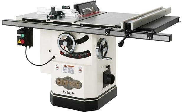 "Shop Fox 10"" 3-HP W1819 Table Saw"