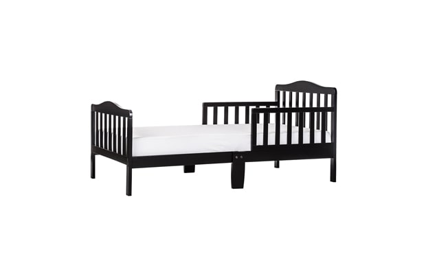 Dream On Me, Classic Design Toddler Bed-Black