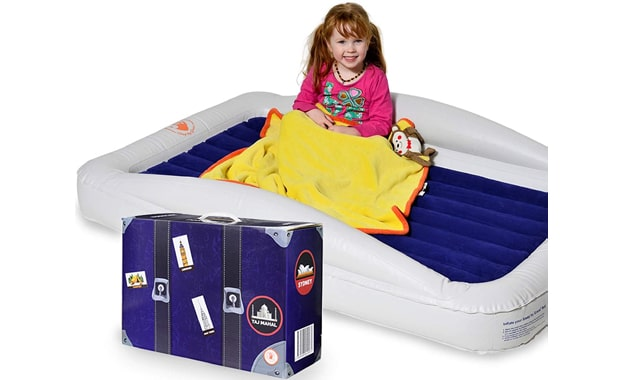 Sleep by Gace Inflatable Toddler Travel Bed-With Safety Bumpers