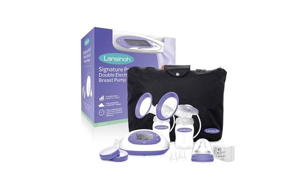 Lansinoh Signature Pro Double Electric Portable Breast Pump