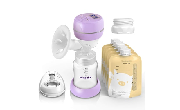 YUNBABY THE BEST BREAST PUMP FOR TRAVEL