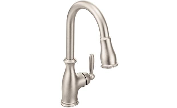 Best Value:Moen 7185SRS Brantford One-Handle Pulldown Kitchen Faucet