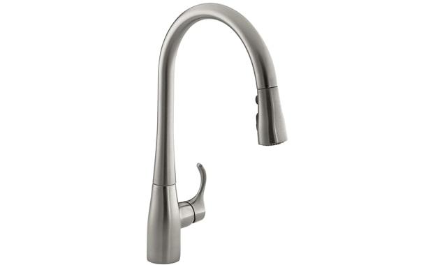 KOHLER K-596-VS Simplice Kitchen Faucet