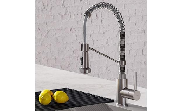 Kraus KPF-161OSS Bolden 18-inch Commercial Kitchen Faucet