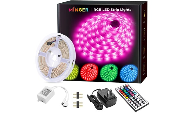 MINGER 16.4 Feet Strip LED Lights
