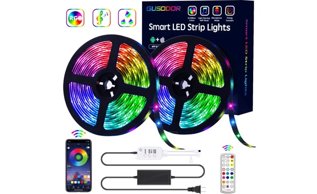 GUSODOR 32.8 Feet LED Light Strips