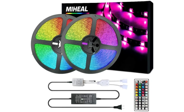 Miheal 65.6 Feet LED Strip Flexible Light