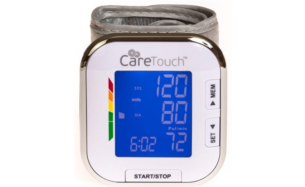 Care Touch Automatic Wrist Cuff Blood Pressure Monitor