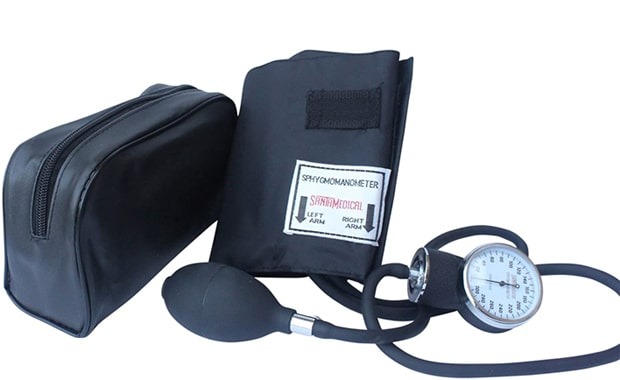 Santamedical Adult Aneroid Deluxe Sphygmomanometer BP Monitor