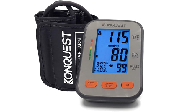 KONQUEST Automatic KBP-2704A Upper Arm Adjustable Blood Pressure Monitor