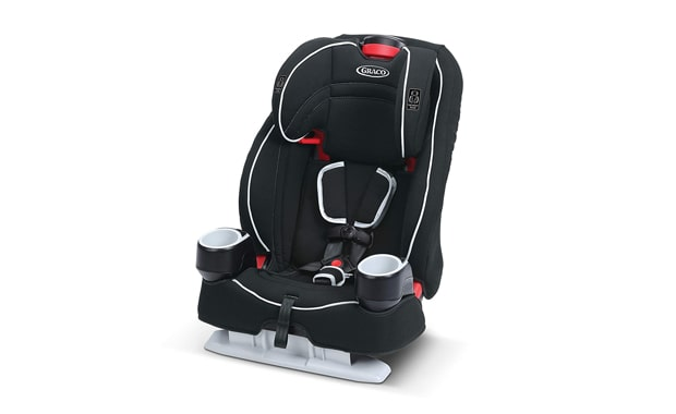 Graco 2-in-1 Atlas 65 Harness High Back Booster Car Seat