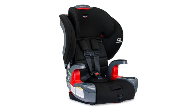 Britax Harness Grow-with-You Booster Seat For Ca