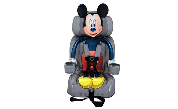 KidsEmbrace Harness 2-in-1 Mickey Mouse Car Seat Booster