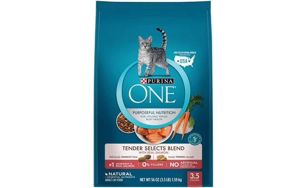 Purina ONE-Tender Selects Blend-Adult Dry Cat Food