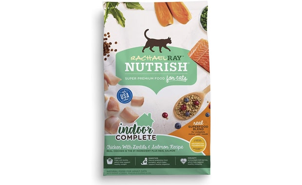Racheal Ray Nutrish-SuperFood Blends-Dry Cat Food