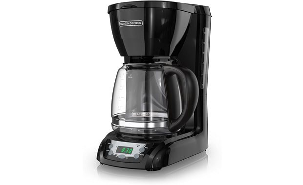 BLACK+DECKER Programmable 12-cup DLX1050B Coffee Maker