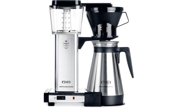 Technivorm KBT Polished Silver Coffee Brewer