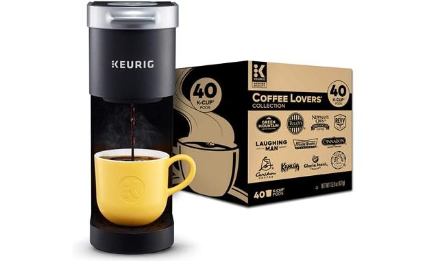 Keurig Single Serve K-Mini Ultra-compact Coffee Maker