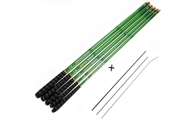 Goture Tenkara Ultralight Carbon Fiber Telescopic Fishing Pole
