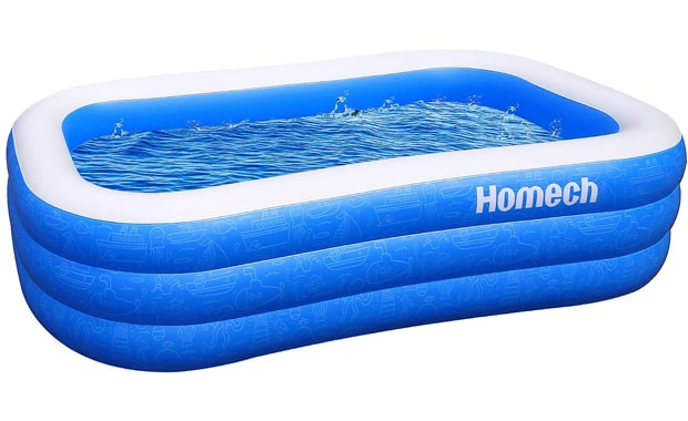 Homech Inflatable Kiddie Pool