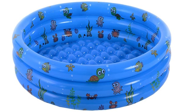 VIVI MAO Inflatable Garden Kiddie Pool
