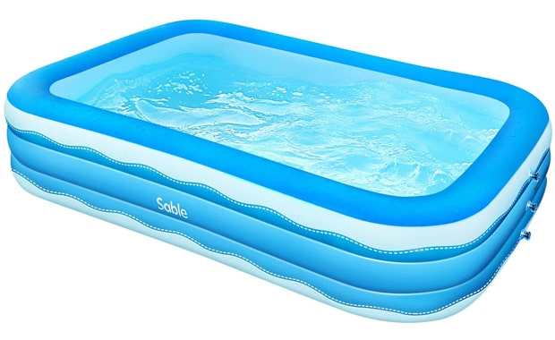 Sable Inflatable Rectangular Above Ground Pool