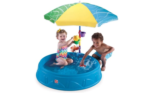 Step2 Kids Play and Shade Kiddie Pool