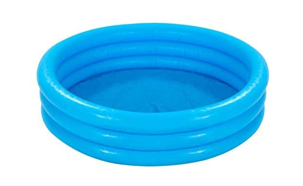 INTEX Crystal 58426EP Blue Outdoor Inflatable Kiddie Pool