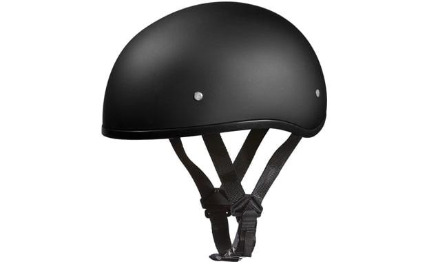 Daytona DOT Approved Half Face Motorcycle Helmet