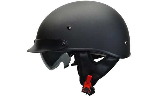 Vega 7800-054 Warrior Half Face Motorcycle Helmet