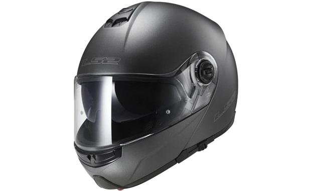 LS2 Strobe Gunmetal Modular Motorcycle Helmet