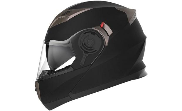 YEMA YM-925 Unisex DOT Approved Bluetooth Motorcycle Helmet