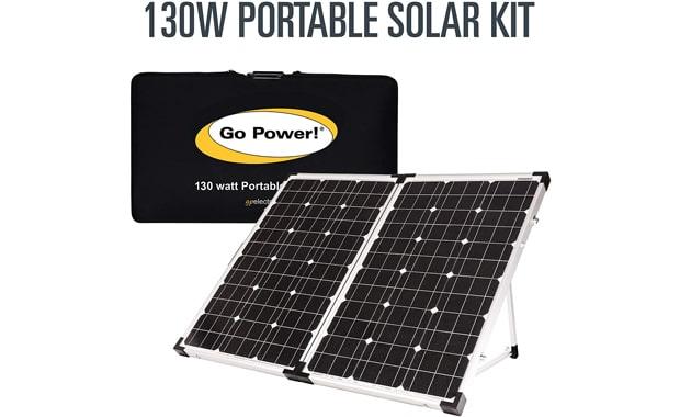 Go Power 130W GP-PSK-130 Portable Solar Panel