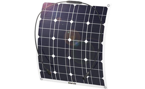 GIARIDE 50-Watt Monocrystalline Lightweight Solar Panel