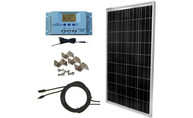 WindyNation Off-Grid 100W Solar Panel