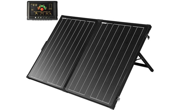 SUNGOLDPOWER Foldable Portable 130W Solar Panel