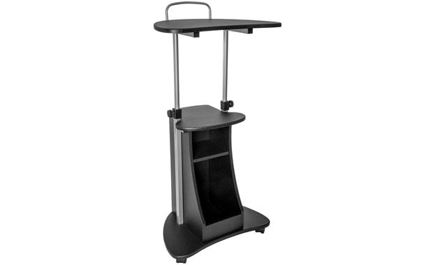 Techni Mobili Rolling Height Adjustable Laptop Cart/Desk