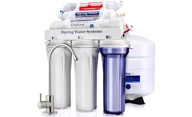 iSpring Superb Taste RCC7AK High Capacity 6-Stage RO Water Filter