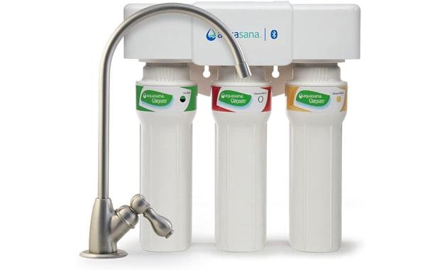 Aquasana 3-Stage Under Sink Max Flow AQ-5300 Water Filter