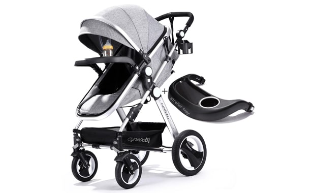 Infant Toddler Baby-Stroller Carriage-Cynababy Compact Pram Strollers-Single   Stroller
