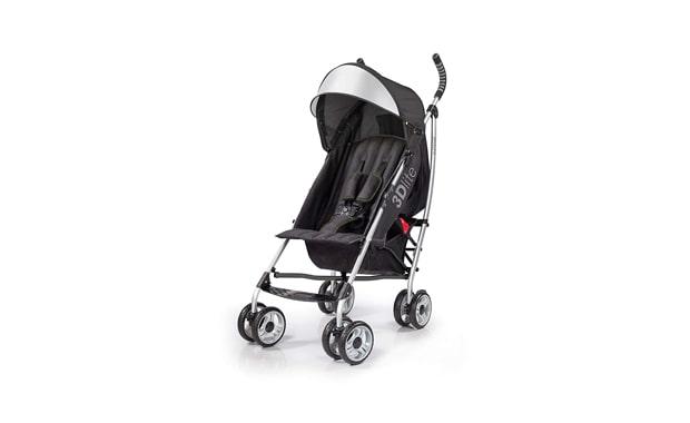 Summer- 3D Lite Convenience Stroller-Black