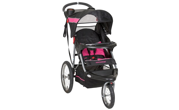 Baby Trend-Expedition Jogger Stroller-Bubble Gum